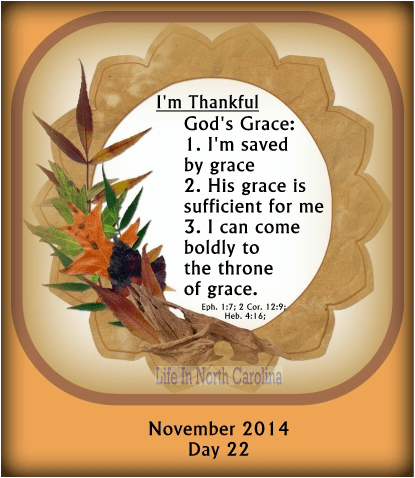 God's grace is so amazing; it saves us, it is sufficient to meet all our needs and we can find help at the throne of grace.