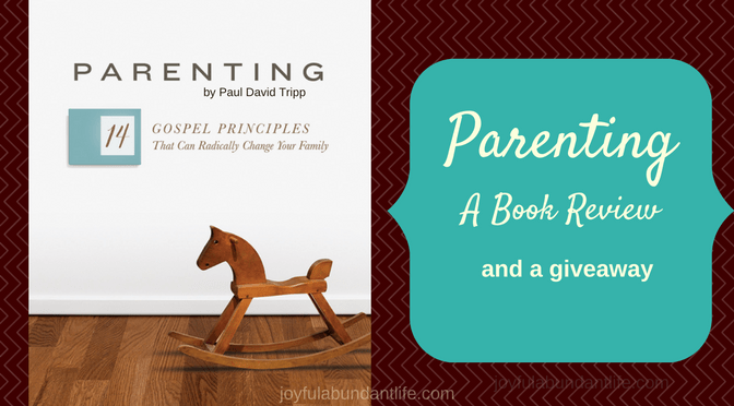 Parenting – A Book Review and a giveaway