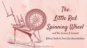 The Little Red Spinning Wheel-Instilling Biblical Truths into My Grandchildren