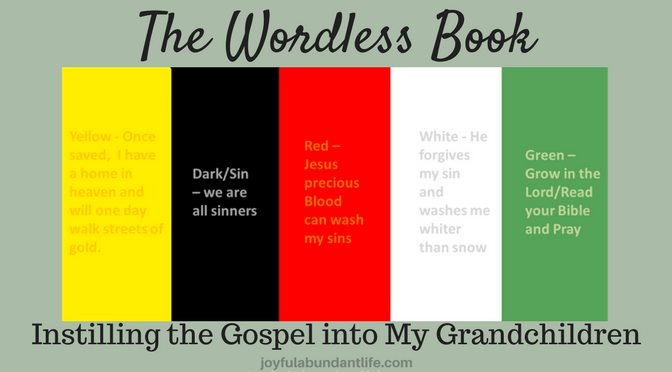 Decisive image for wordless book gospel printable