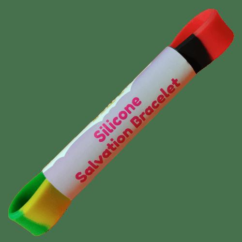 Silicone Gospel Bracelet