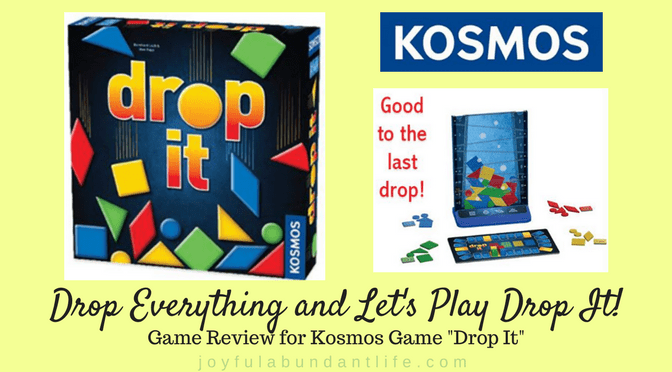 Drop Everything and Let's Play Drop It!