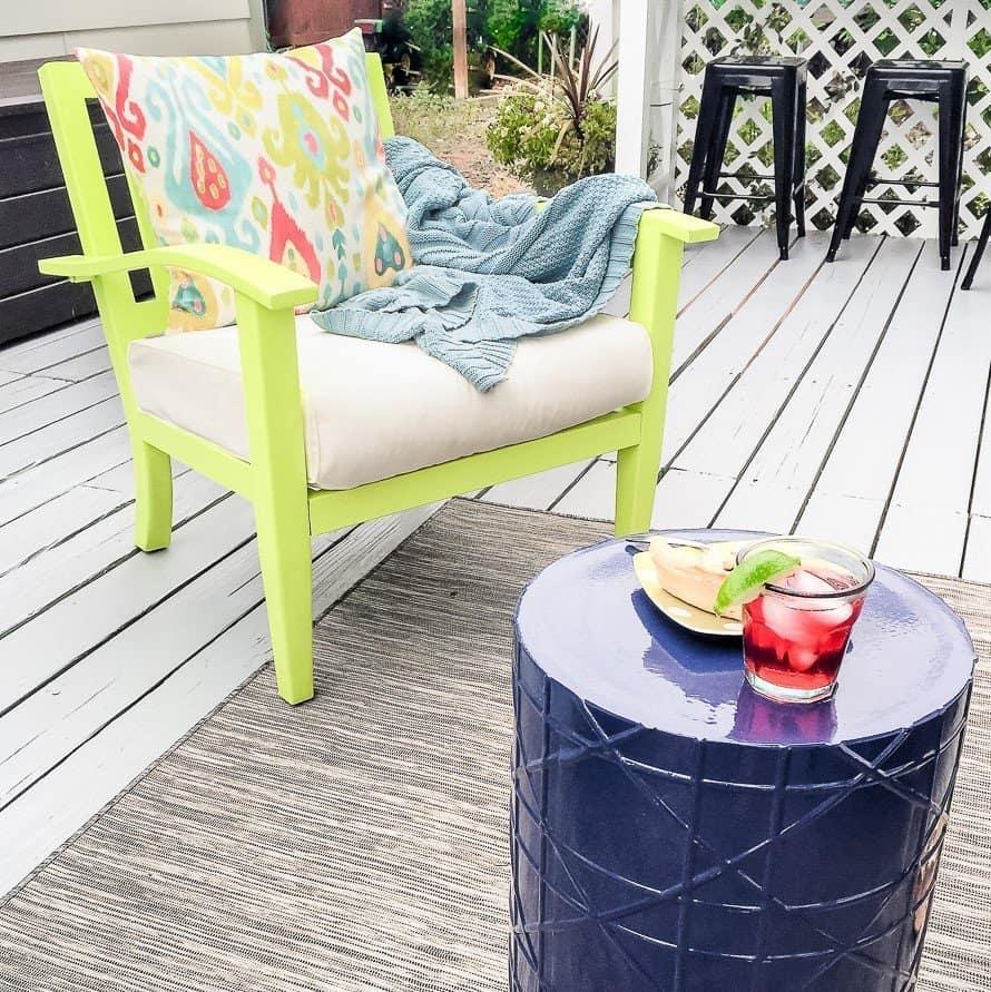Backyard Deck Ideas - 10 Simple Updates to Try! - Joyful ... on Simple Back Deck Ideas id=73304