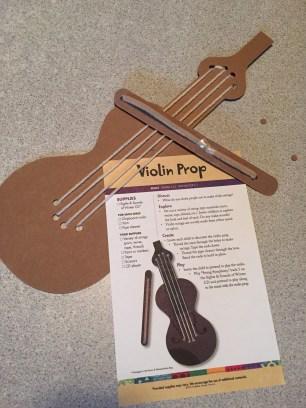 V for violin