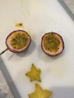 Passion Fruit and Starfruit
