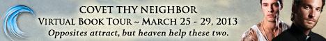 covet thy neighbor banner