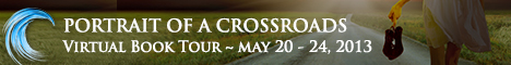 portrait of a crossroads tour banner