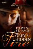 Excerpt and Giveaway: Grey's Hidden Fire by Draven St. James