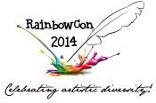 rainbow con logo