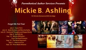 Mickie B. Ashling Forget Me Not Tour Banner