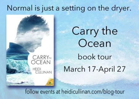 Carry the Ocean book tour horizontal
