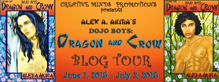 DOJO BOYS: DRAGON & CROW BLOG TOUR BANNER