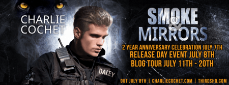 Smoke & Mirrors Blog Tour Banner