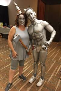 Two Tin Men! And how incredible is Joel Leslie's costume?