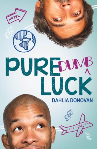 Guest Post and Giveaway: Pure Dumb Luck by Dahlia Donovan