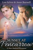 Review: Sunset at Pencarrow by Lou Sylvre and Anne Barwell