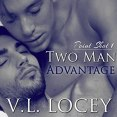 Audiobook Review: Two Man Advantage by V.L. Locey