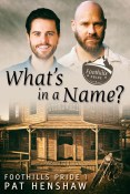 Guest Post and Giveaway: What's in a Name? by Pat Henshaw