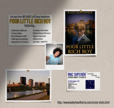 poor little rich boy graphic