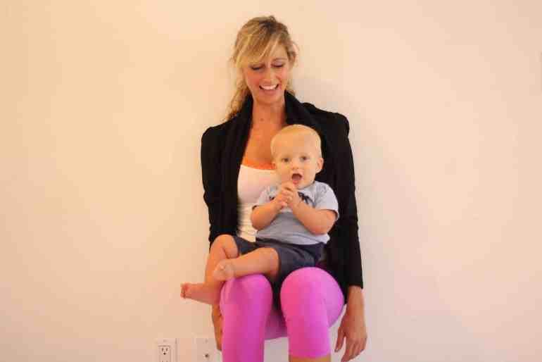 postpartum workout squat