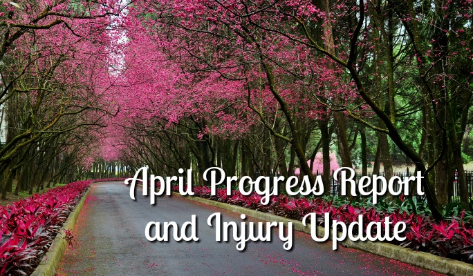 April Progress Report and Injury Update: Tuesdays on the Run Blog Link Up