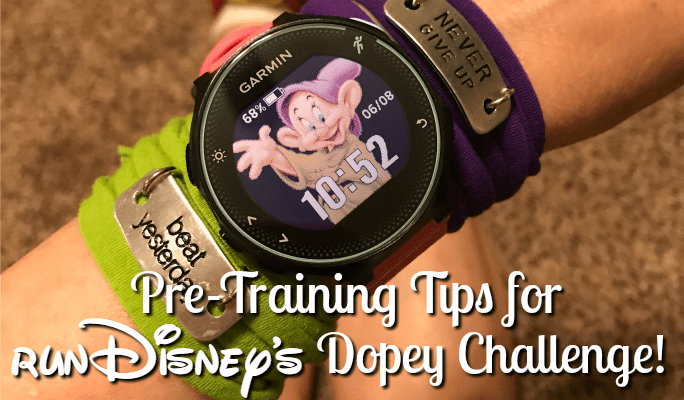 Pre-Training Tips for runDisney's Goofy and Dopey Challenge