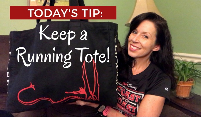 Running and Training Tips: Keep everything you need in a Running Tote!