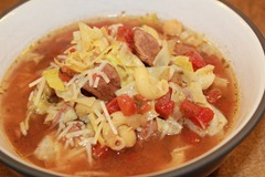 Minestrone Soup (slow cooker style)