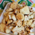 Roasted Garlic And Parmesan Cauliflower
