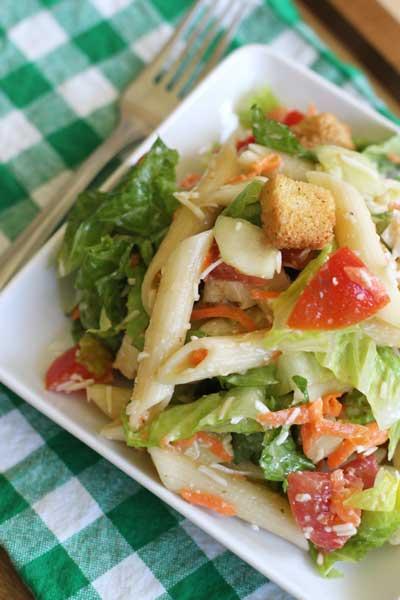 Italian Chicken Pasta Salad Joyful Mommas Kitchen