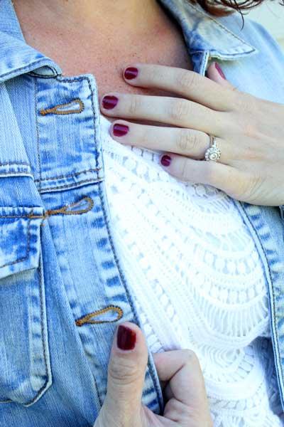 Kut From The Kloth Anusha Sweet Wash Denim Jacket