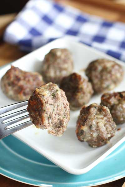 Best Baked Meatballs