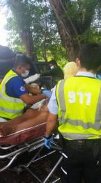 Medical team providing Mario medical care
