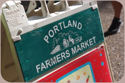 The famous Portland Farmer's Market, at Portland State University