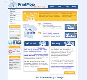 Print Mojo Website