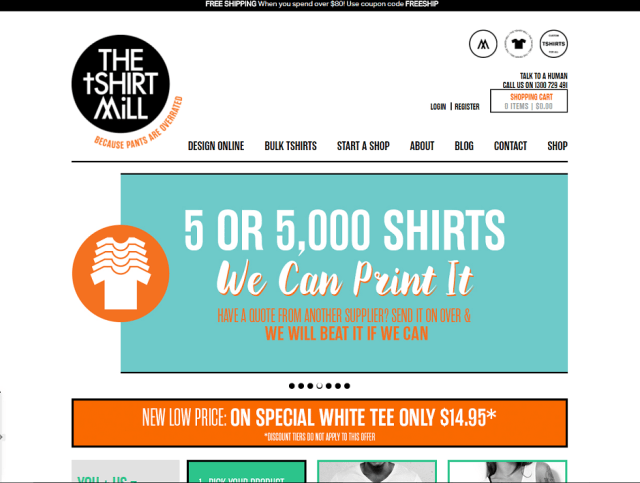 The T-Shirt Mill