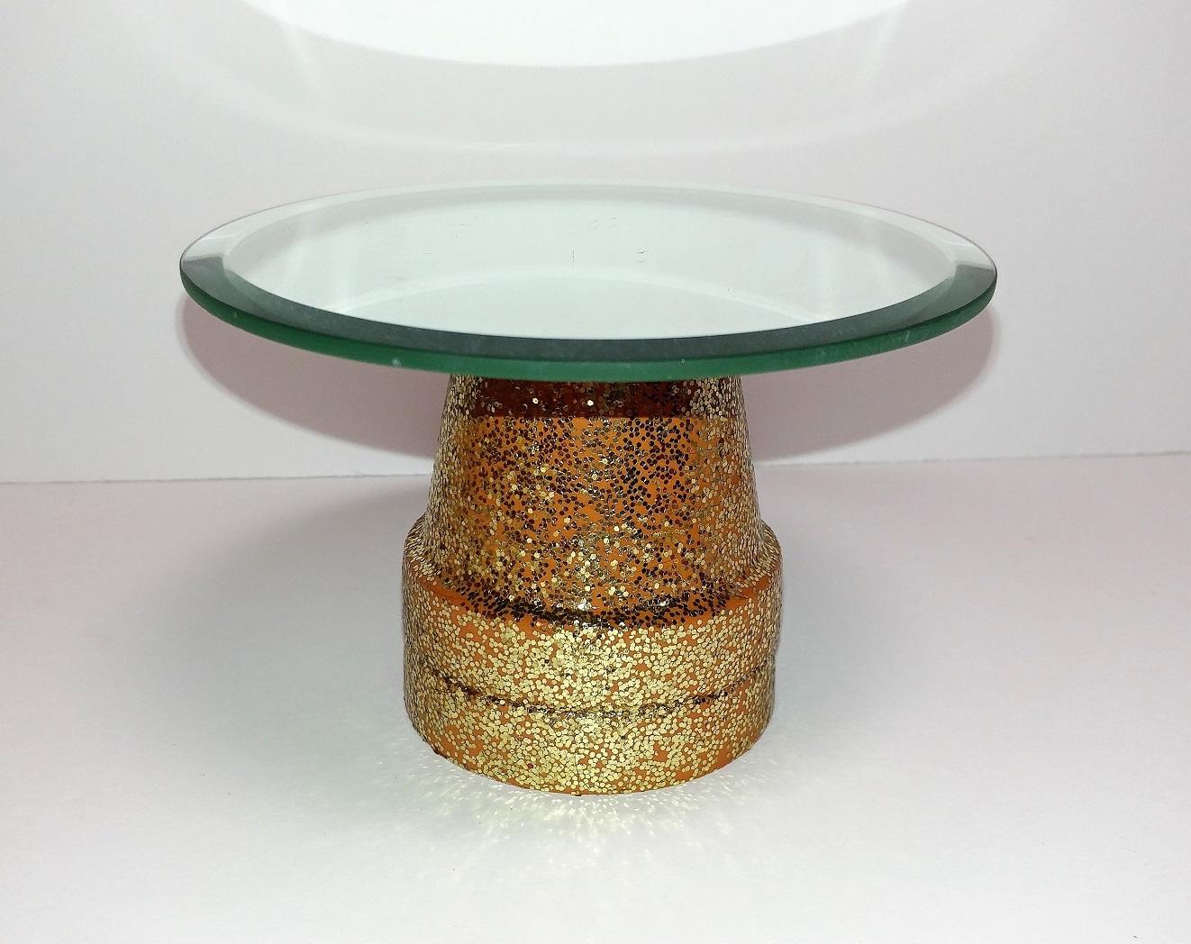 Miniature cupcake stand