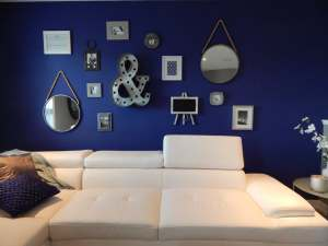 Frame gallery wall