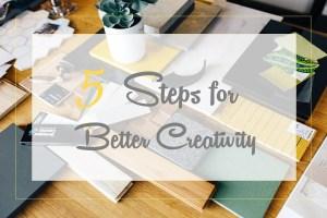 Titlebox: 5 steps to better creativity
