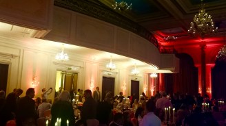 .....the balcony in the banquet room.....