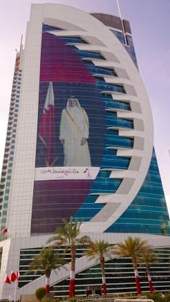 Qatari's LOVE their Emir!!!