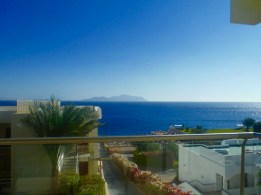 View of Tiran Island from our room!!!