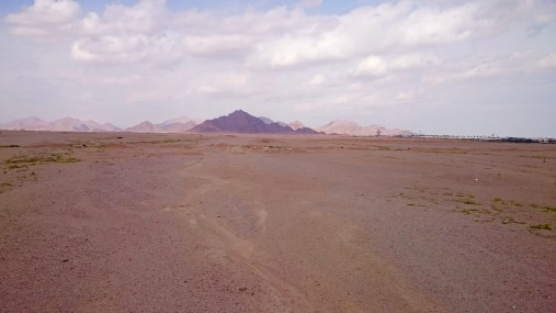 On our way across two spans of desert.....