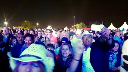 The crowd!!!!