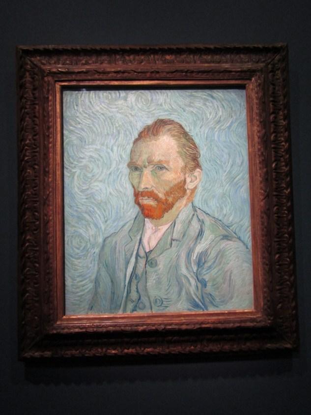 1889 - Van Gogh self-portrait