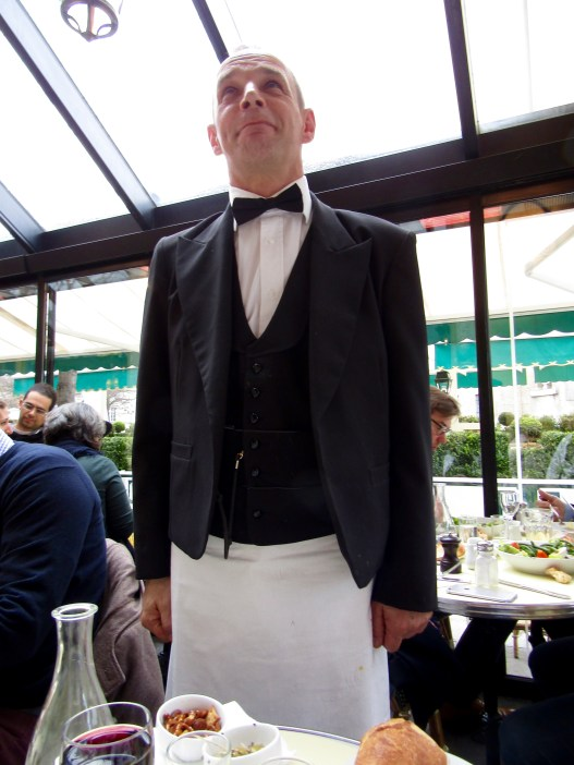 Our server!!! He was all business with saviour faire!!!!