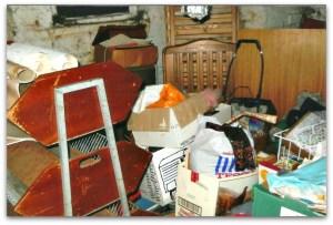 messy basement