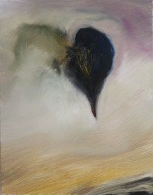 Accident, Hot Air Balloon, 2013, oil/canvas, 14x11 inches