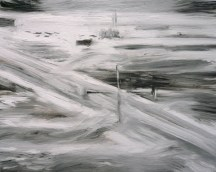 FLIR 1, 2011, oil/canvas, 11x14 inches