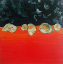 Heat Seekers 2, 2014, oil on canvas, 18x18 inches